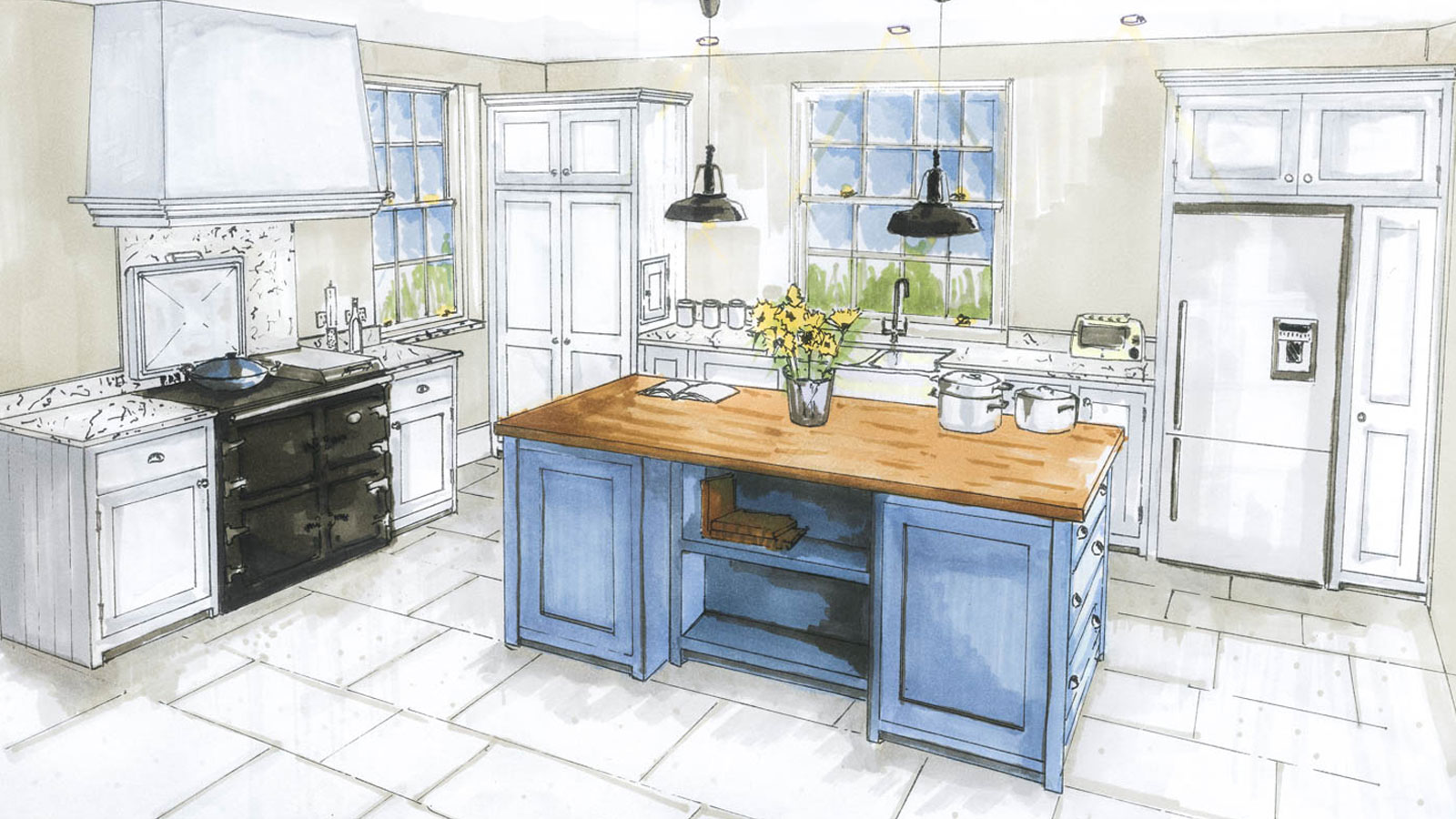 Рисунки кухни картинки